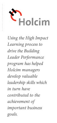 Holcim success case